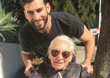 Chris Salvatore generously took care of his elderly neighbor until she died