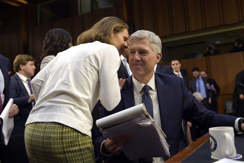 Top Senate Democrats will filibuster Trump's Supreme Court nominee