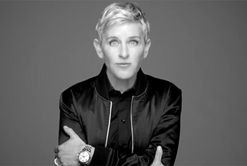Ellen, Lady Gaga & Pharrell team up for 'The Love Project' in uplifting video