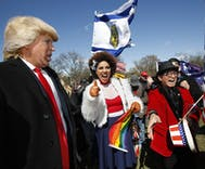 'Gays for Trump' among participants in Saturday's nationwide marches for Trump