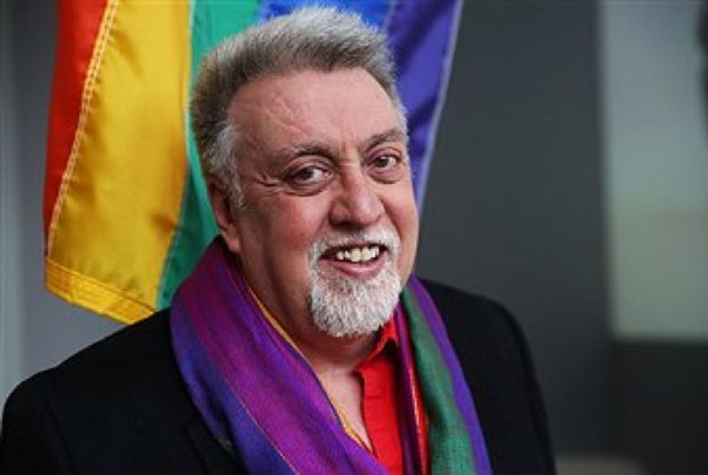 Gilbert Baker, creator of the rainbow flag, dead at 65