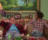 Sara Gilbert 'comes out' to John Goodman in mini 'Roseanne' reunion
