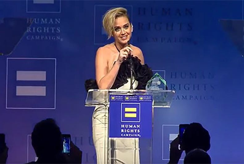 Katy Perry revealed she went to camps that tried to 'pray the gay away'