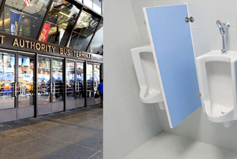 Police sued for targeting gay men in NYC using undercover urinal cops