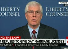 Kim Davis' lawyer is fighting to overturn Jacksonville's human rights ordinance