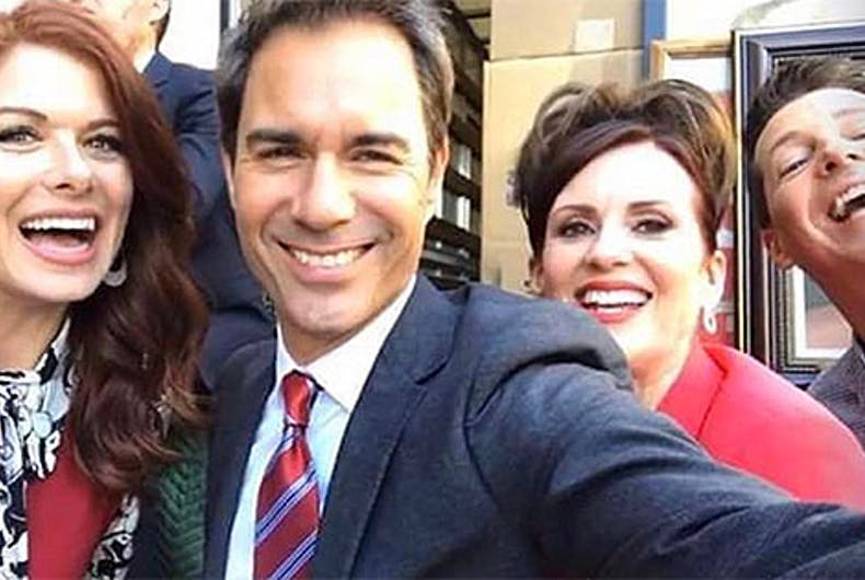 Take your first look at the Will & Grace reboot