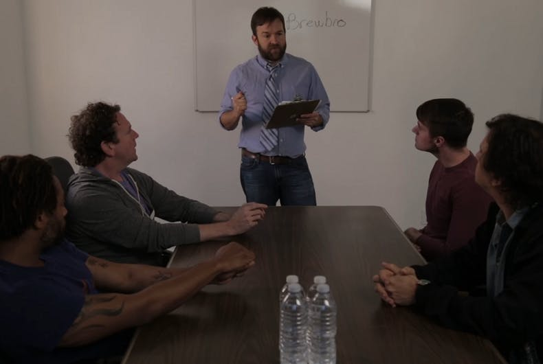 Marketer seeks branding help from The Gays in hilarious sketch