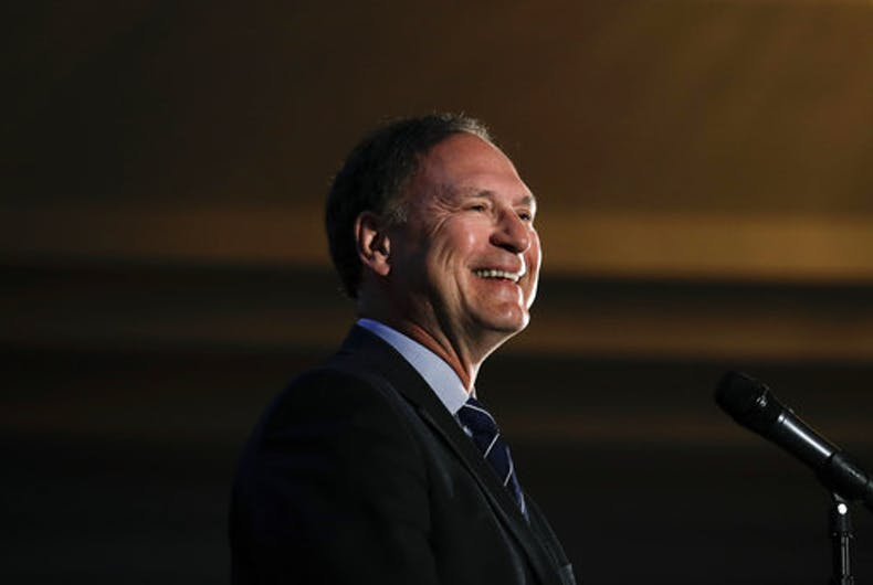 Supreme Court Justice Alito: Gays treat conservative Christians 'as bigots'