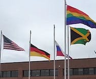 High school takes down rainbow flag after trans student complains