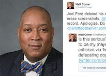 Charlotte mayoral candidate sends a pooping dog GIF to defend his LGBT record