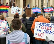 Rallies for transgender rights gain momentum