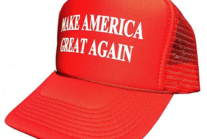 Man couldn't order drinks because of his Trump hat, his 'saddest hour'