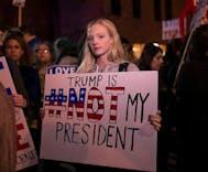 Majority of millennials see Trump as an illegitimate president