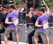 Hero cop who danced his way into our hearts at Pride dies of 9/11 related cancer