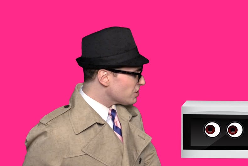 Randy Rainbow makes fun of Kellyanne Conway's spy microwaves