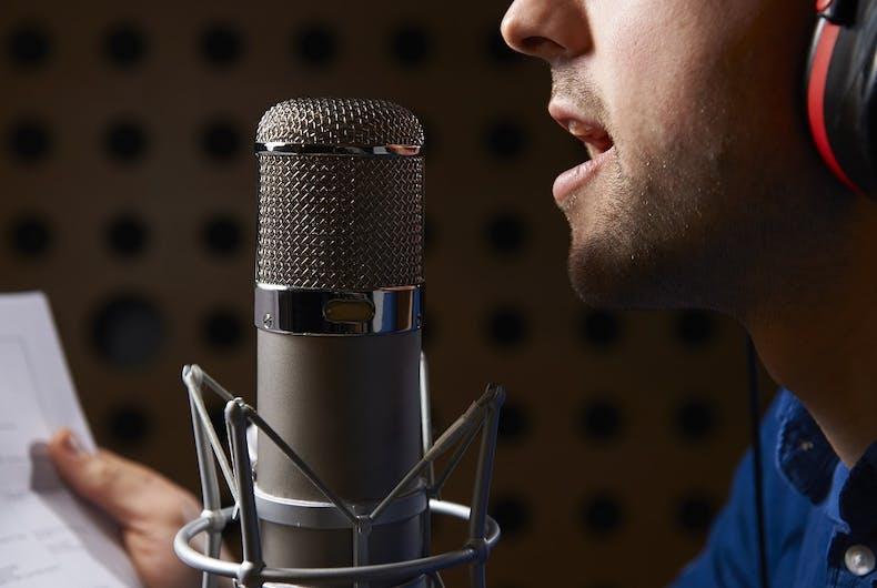Gay voice