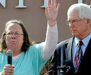 Kim Davis may face a challenger she knows well during her reelection campaign