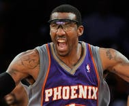 Amar'e Stoudemire makes an offensive 'joke' when asked about a gay teammate