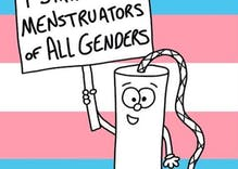 'Toni the Tampon' comes out in support of trans menstruators