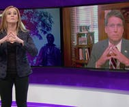 Samantha Bee wants to help total non-bigot Pat McCrory find a new job