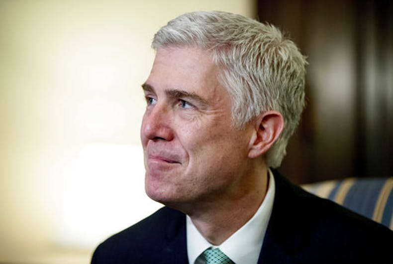 Is Neil Gorsuch the new Anthony Kennedy? Don't count on it.