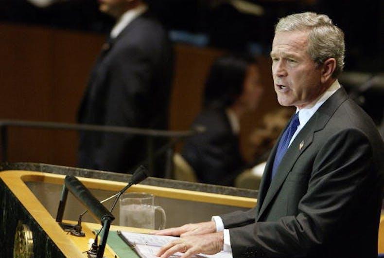 George W. Bush attacks Trump over HIV/AIDS funding