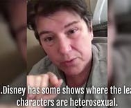 Woman dares to expose Disney's secret 'heterosexual agenda'