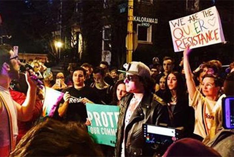 Ivanka Trump's neighbor was the hit of the queer dance party outside her home
