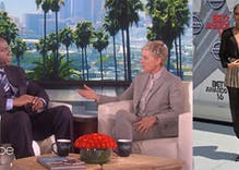 Magic Johnson opens up to Ellen about his gay son