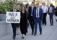 Mormon church donates $25k to LGBTQ support group