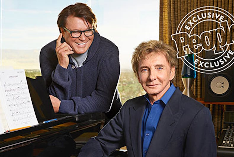 Barry Manilow comes out at 73