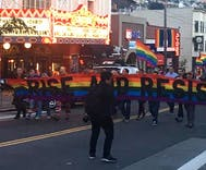 San Francisco vigil honors Gilbert Baker, creator of the rainbow flag
