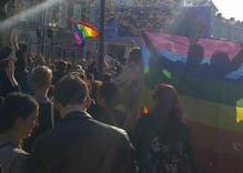 Thousands take to the streets in support of Dutch gay bashing victims