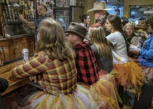 Wyoming men wear tutus in protest of Senator's victim-blaming comments