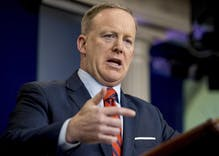 Sean Spicer claims Hitler didn't use chemical weapons on his own people