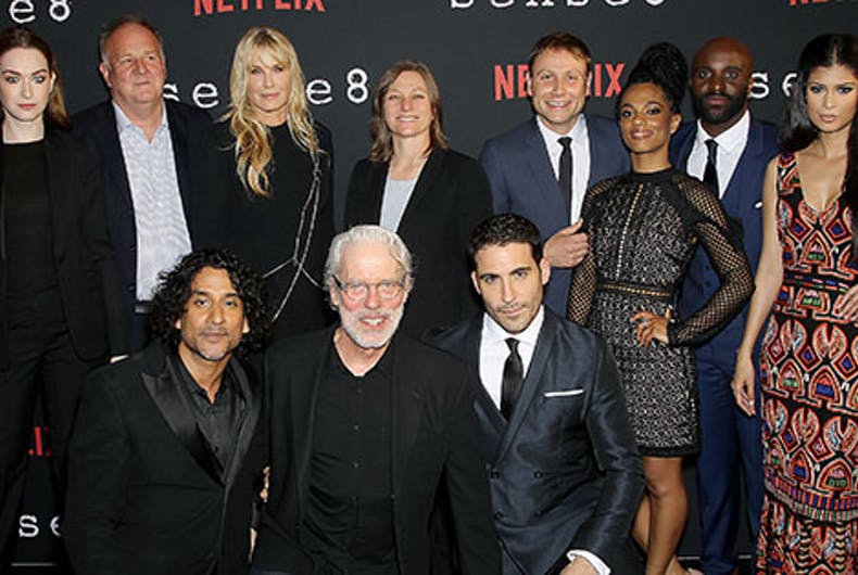 Here's your ticket to the star-studded premiere of 'Sense8' season 2
