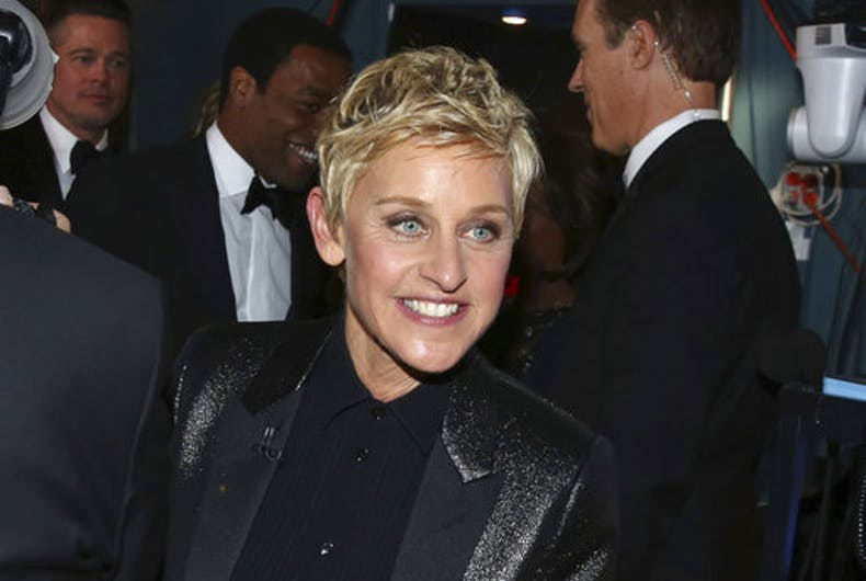 A quick Q&A with Ellen DeGeneres on the anniversary of her coming out