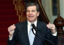 North Carolina governor's small revenge on Republican legislators