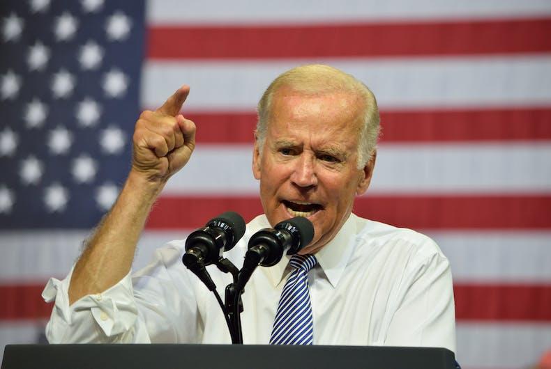 Joe Biden condemns gay 'concentration camps' in Chechnya
