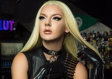 You won't believe the reception this drag queen got from a small town cop