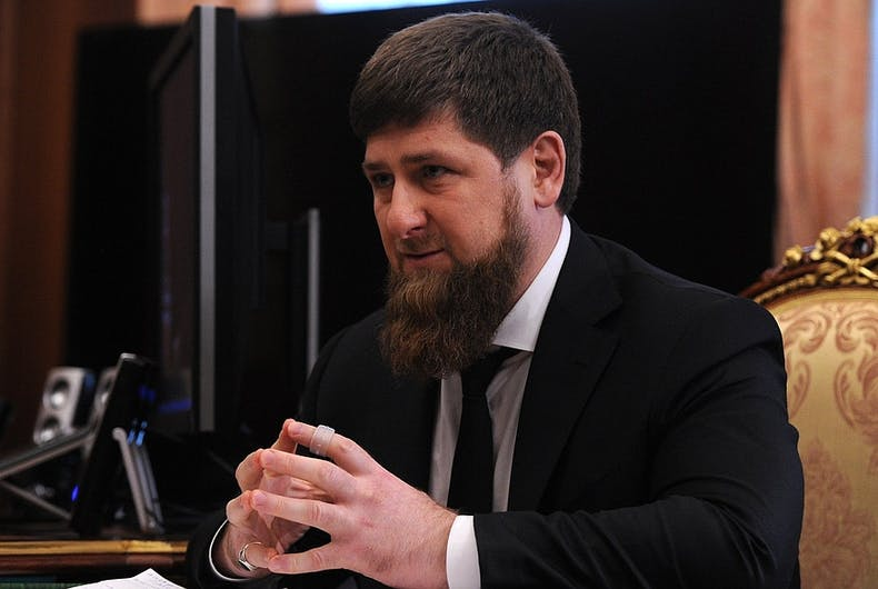Chechnya's president calls claims of gay killings an 'attack' on Chechen society