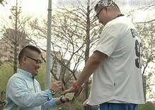 The way this man proposed to his partner is beyond adorable