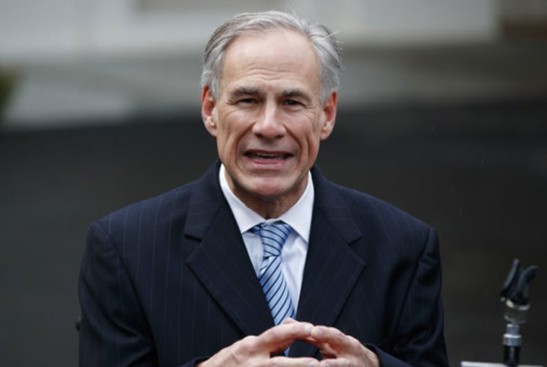 Texas governor says he won't champion transgender bathroom bans any longer