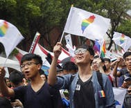 Two steps back & one step forward for gays in Asia this week