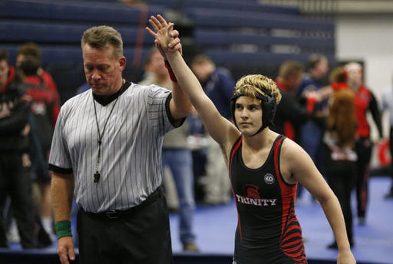 Texas considers banning trans athletes after Mack Beggs's wins