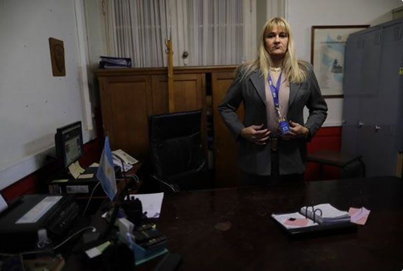 Meet Argentina's first transgender police chief