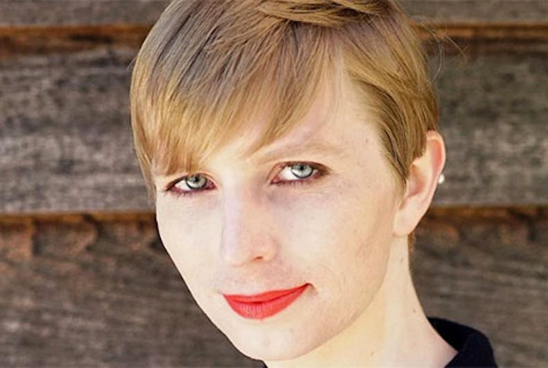 Chelsea Manning poses in a swimsuit for 'Vogue' interview