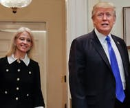 Does Kellyanne Conway secretly loathe Donald Trump?