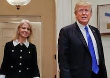 Does Kellyanne Conway secretly loathe Donald Trump?