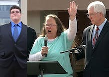 Kim Davis's lawyer sticks his nose into trans student Gavin Grimm's legal battle